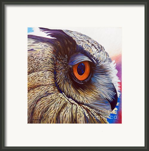 Introspection Framed Print By Brian  Commerford