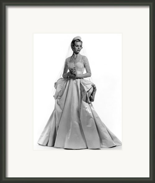 Invitation, Dorothy Mcguire, 1952 Framed Print By Everett
