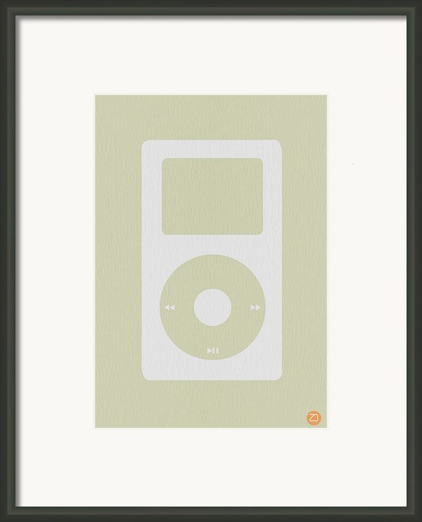 Ipod Framed Print By Naxart Studio