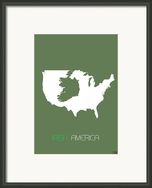 Irish America Poster Framed Print By Irina  March