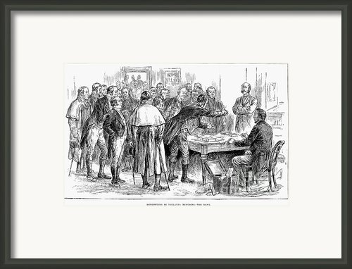 Irish Land League, 1886 Framed Print By Granger