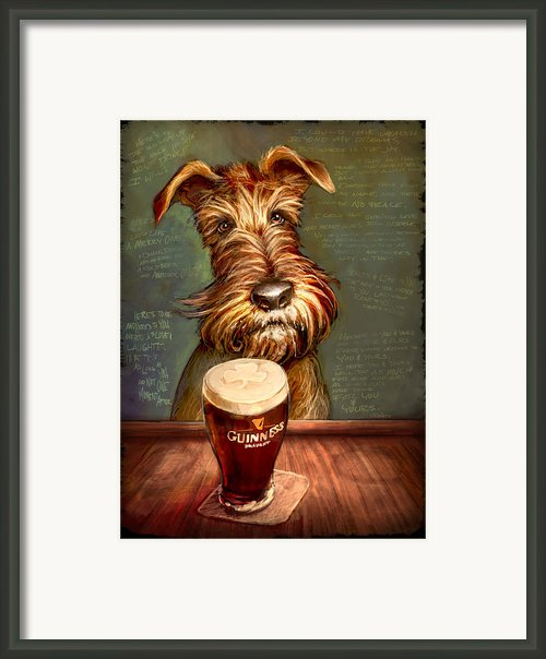 Irish Stout Framed Print By Sean Odaniels