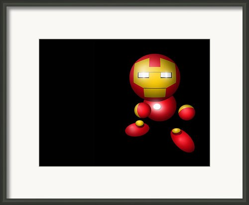 Iron Fella Framed Print By Leo Strawn Jr