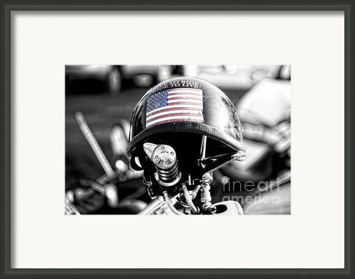 Iron Horse 5 Framed Print By Chris  Mautz