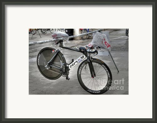 Ironman Framed Print By David Bearden