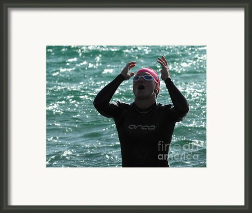 Ironman St George Framed Print By Bob Christopher