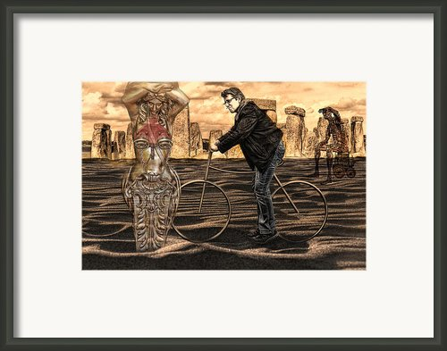 Is It Art  Or Can I Clean It Up Framed Print By Joachim G Pinkawa