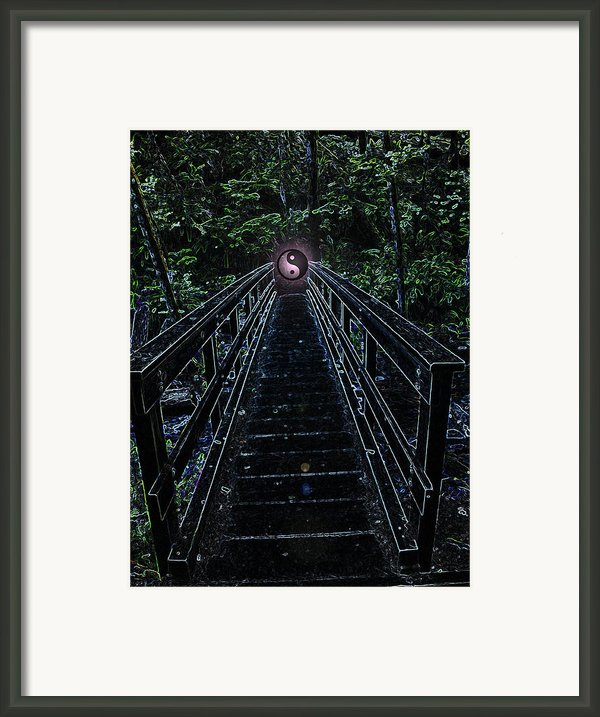 Is There Such A Place Framed Print By Teri Schuster