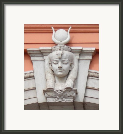 Isis Keystone Framed Print By Richard Deurer