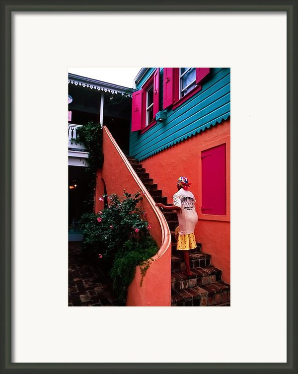 Island Color. Bvi Framed Print By Bill Jonscher