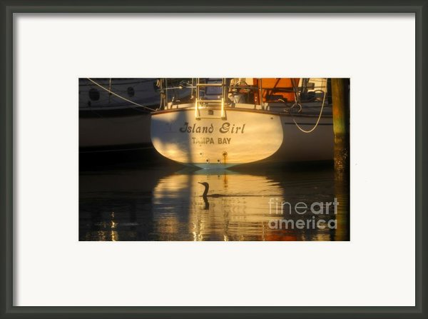 Island Girl Framed Print By David Lee Thompson
