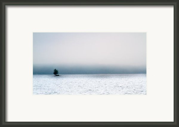 Island In The Fog Framed Print By Bob Orsillo