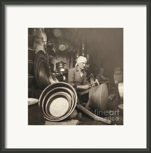 Israel: Metal Workers, 1938 Framed Print By Granger