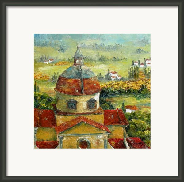 Italian Basilica Framed Print By Chris Brandley