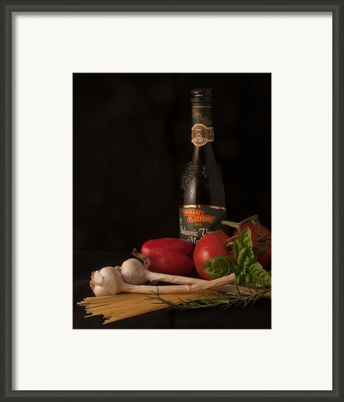 Italian Palate Number 1 Framed Print By Constance Sanders