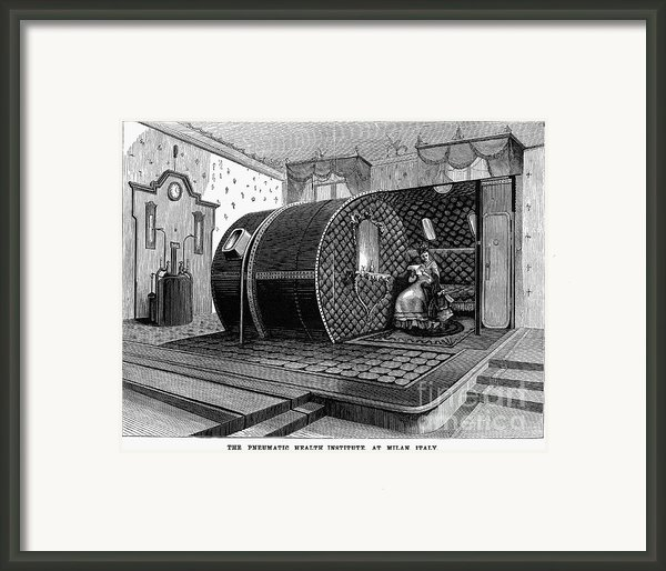 Italy: Health Institute, 1876 Framed Print By Granger