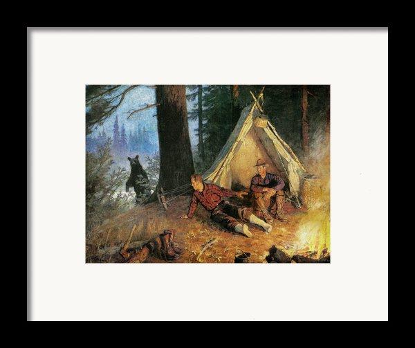 Its A Bear Framed Print By Jq Licensing