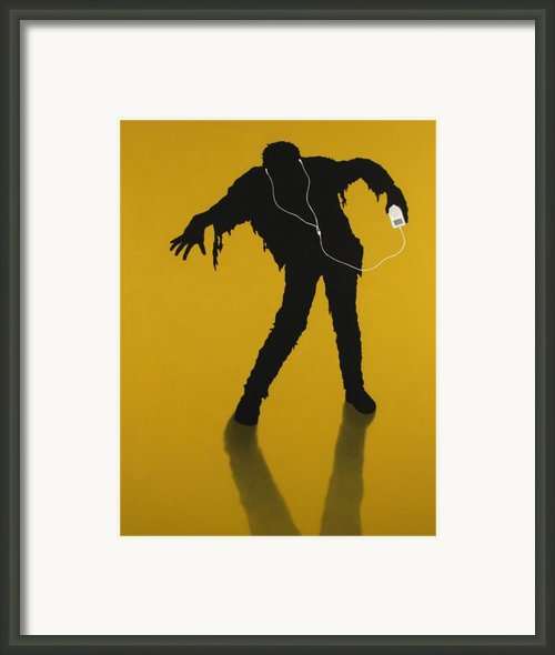 Izombie Framed Print By James W Johnson