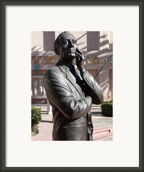Jack Benny Framed Print By Jeff Lowe