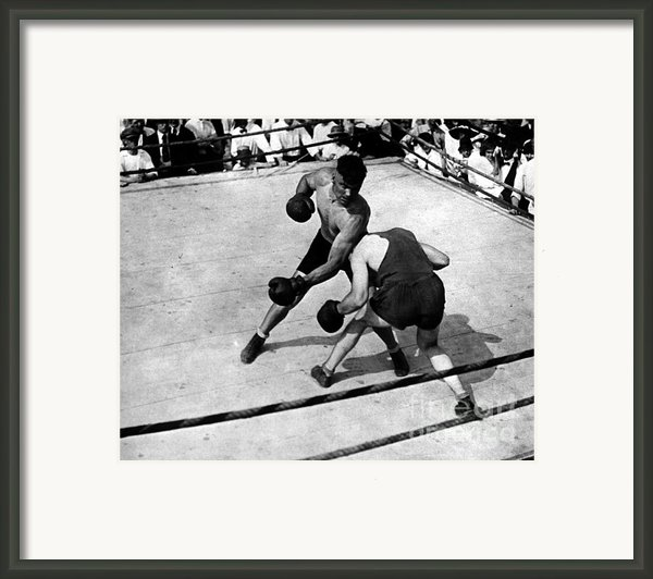 Jack Dempsey Framed Print By Granger