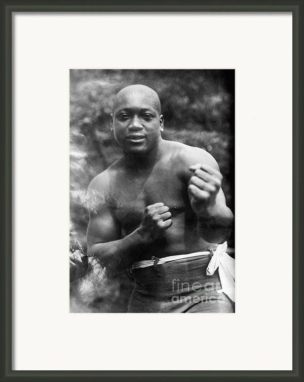 Jack Johnson (1878-1946) Framed Print By Granger