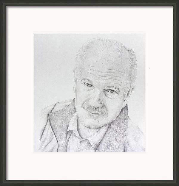 Jack Layton Framed Print By Daniel Young