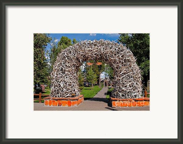 Jackson Hole Framed Print By Robert Bales