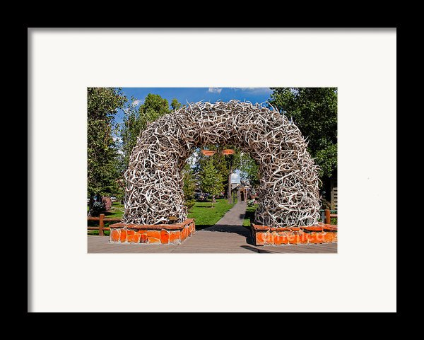 Jackson Hole Framed Print By Robert Bales