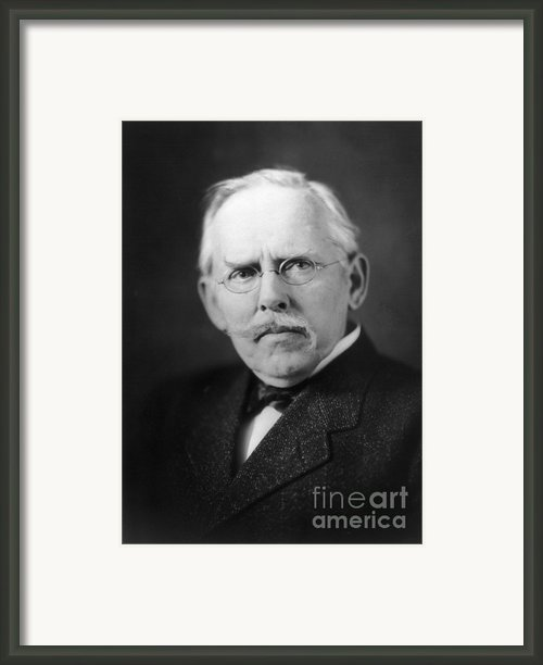 Jacob A. Riis (1849-1914) Framed Print By Granger