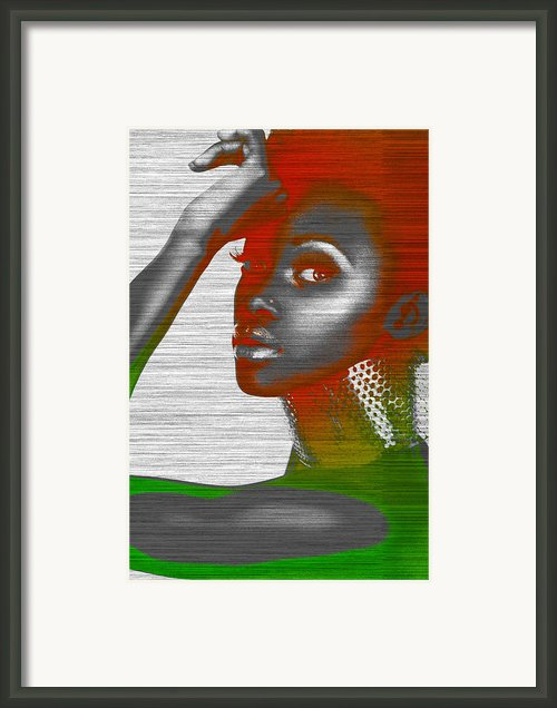 Jada Framed Print By Irina  March