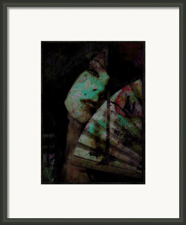 Jade Framed Print By Adam Kissel