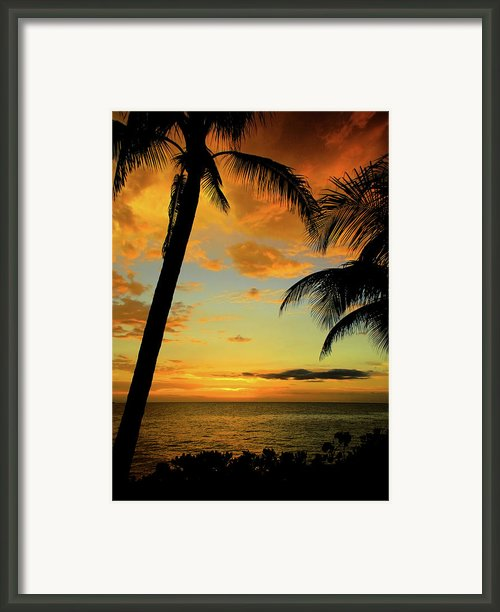 Jamaican Night Framed Print By Kamil Swiatek