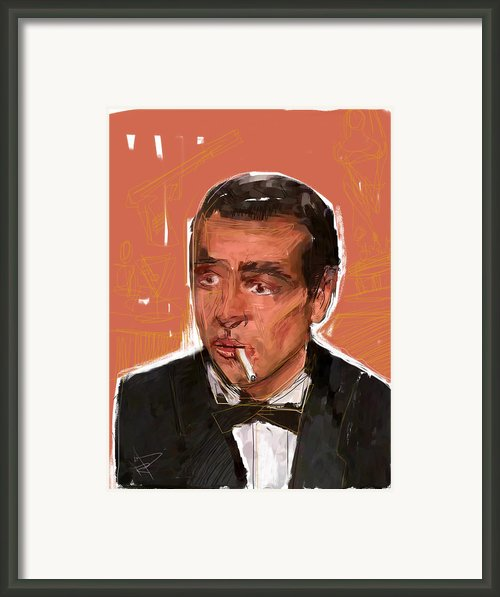 James Bond Framed Print By Russell Pierce
