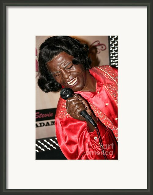 James Brown Framed Print By Sophie Vigneault
