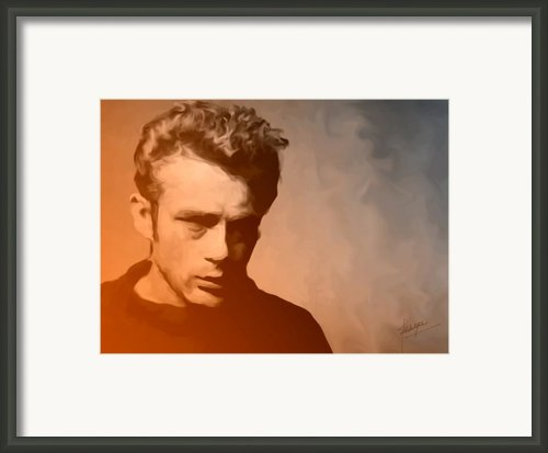 James Dean Framed Print By Debbie Mcintyre