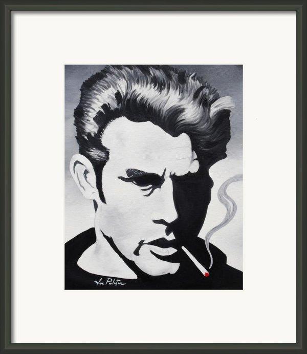 James Dean  Framed Print By Joseph Palotas