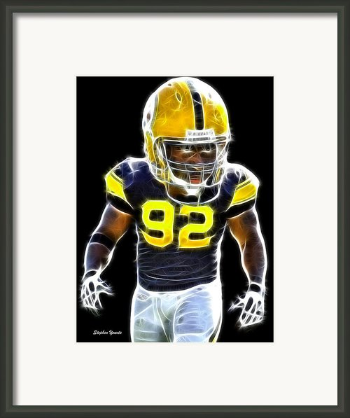 James Harrison Framed Print By Stephen Younts