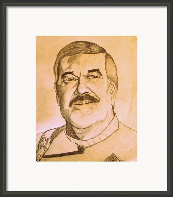 James Montgomery Scotty Doohan Of Star Trek Enterprise Framed Print By Donald William