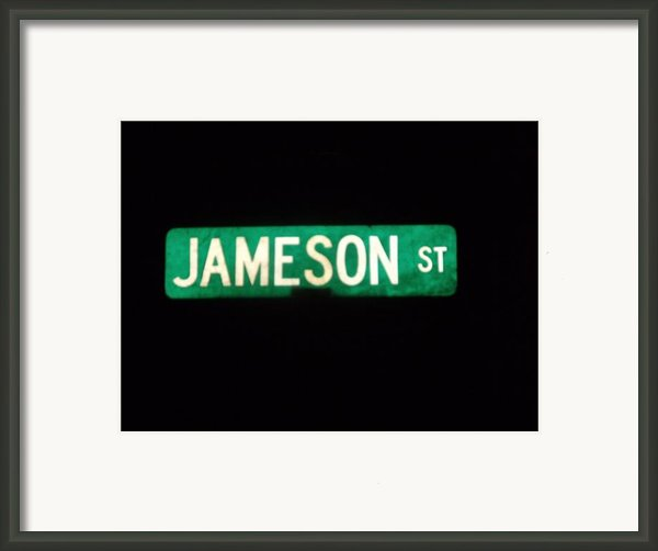 Jameson Street Framed Print By Anna Villarreal Garbis