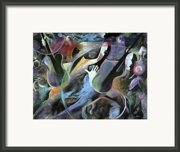 Jammin Framed Print By Ikahl Beckford