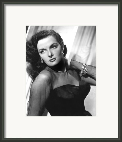 Jane Russell, 1948 Framed Print By Everett
