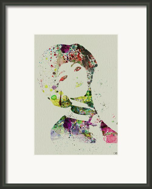 Japanese Woman Framed Print By Irina  March