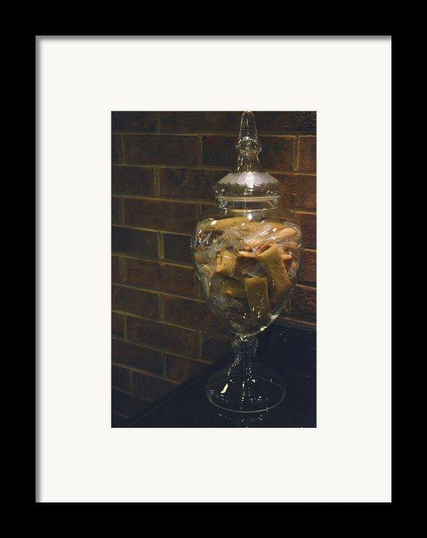 Jar Of Biscotti Framed Print By Sandi Oreilly