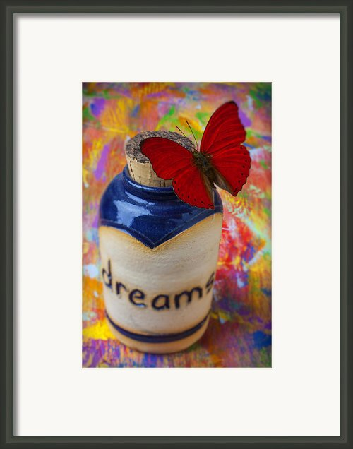 Jar Of Dreams Framed Print By Garry Gay