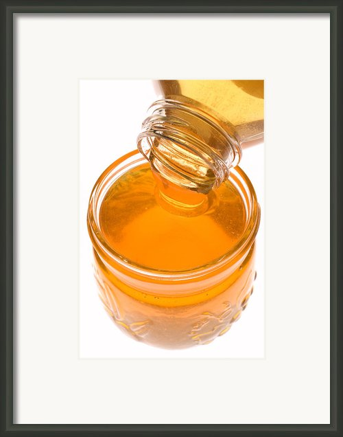 Jar Of Honey Framed Print By Garry Gay
