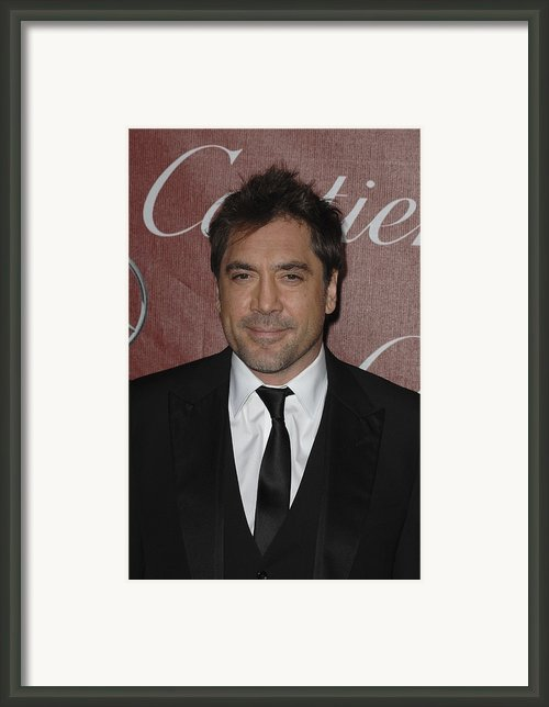 Javier Bardem At Arrivals For 22nd Framed Print By Everett