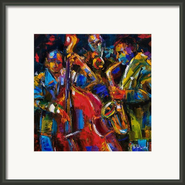Jazz Framed Print By Debra Hurd