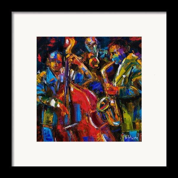 Jazz Framed Print By Debra Hurd