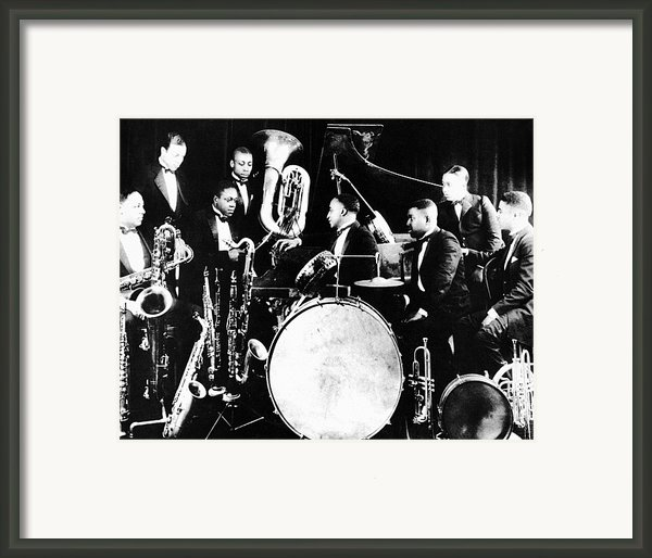 Jazz Musicians, C1925 Framed Print By Granger