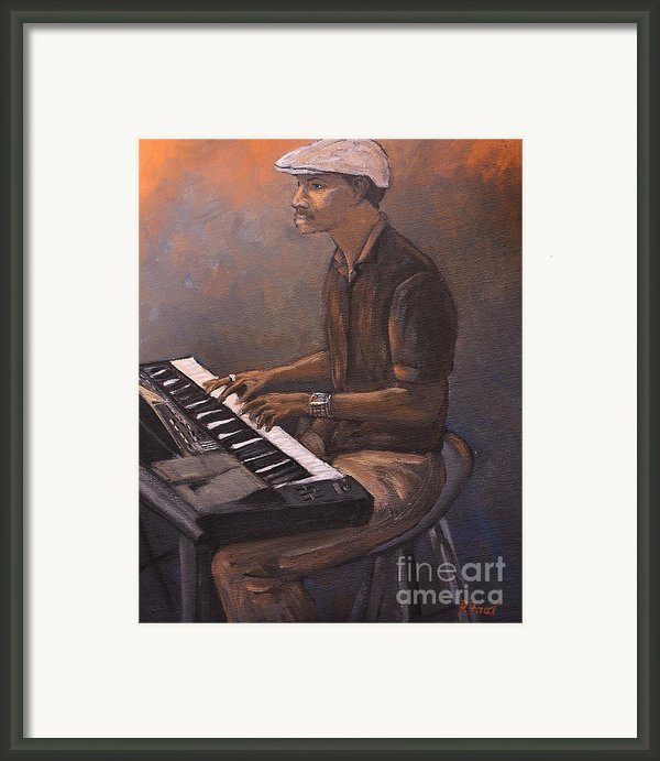 Jazz Framed Print By Reb Frost